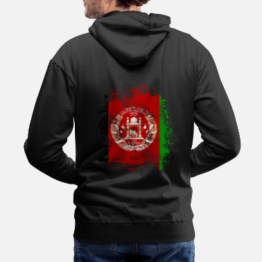 Kabul Afghanistan Kabul State افغانستان Flag Nationality - Men's Premium Hoodie