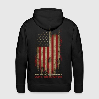 Definition of True Patriotism! - Men's Premium Hoodie