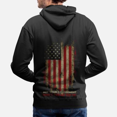 Patriotic Definition of True Patriotism! - Men's Premium Hoodie