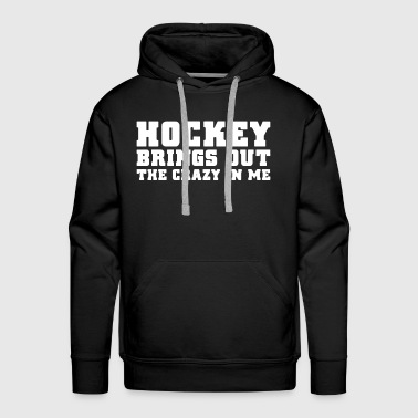 Hockey Shirt - Men's Premium Hoodie