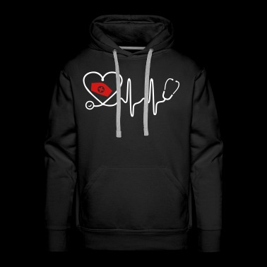 Heart Beat Nurse - Men's Premium Hoodie