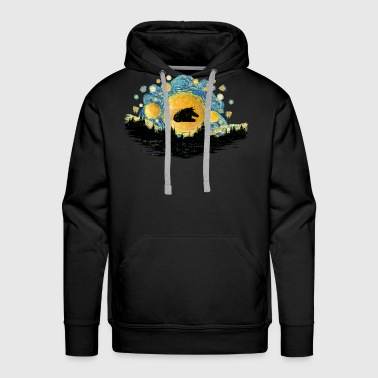 Millenium Spaceship T-shirt - Men's Premium Hoodie