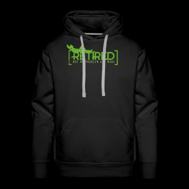 Retired - Not My Problem Anymore - Men's Premium Hoodie