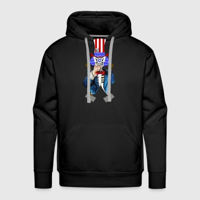 Uncle Chop Top - Men's Premium Hoodie