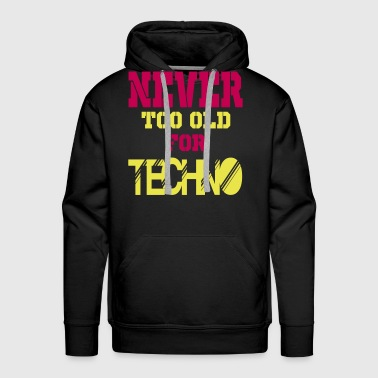 never too old for 2 - Men's Premium Hoodie