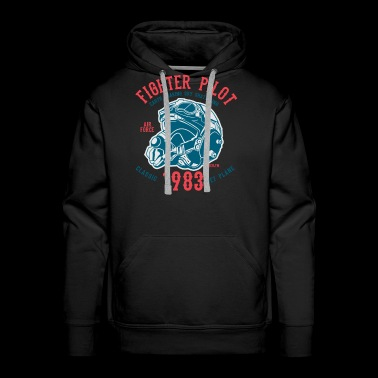 Fighter Pilot2 - Men's Premium Hoodie