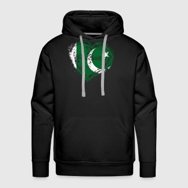 HOME ROOTS COUNTRY GIFT LOVE Pakistan - Men's Premium Hoodie