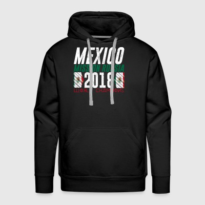 MEXICO WORLD CUP 2018 COOL FAN SHIRT - Men's Premium Hoodie