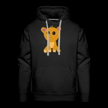 Sweet teddy bear - Present kids T-shirt - Men's Premium Hoodie