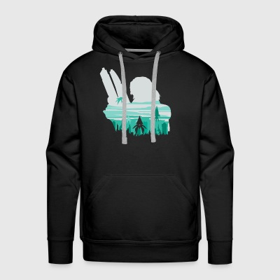 Reaper invasion of Earth - Men's Premium Hoodie