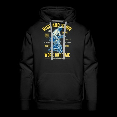 Work Out Time Exclusive Tshirt Limited Edition - Men's Premium Hoodie