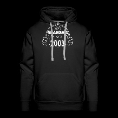 Proud Grandma Best Grandma Birthday 2003 - Men's Premium Hoodie