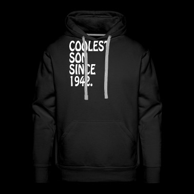 Coolest Son 1942 For Adult Son Gift Personalized - Men's Premium Hoodie