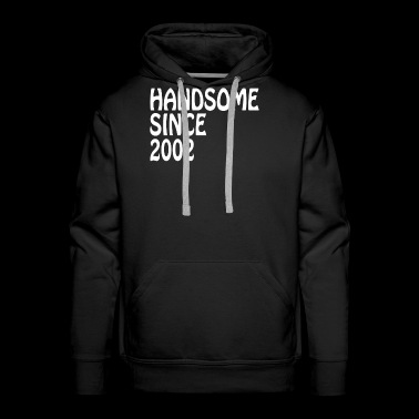 Son Birthday Gifts Shirt Handsome 2002 Birthay - Men's Premium Hoodie
