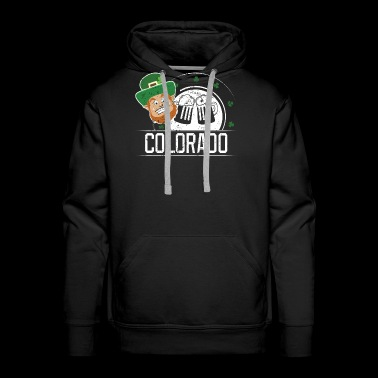 St Pattys Day Shirt Funny Colorado St Patricks Day Gear - Men's Premium Hoodie