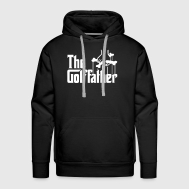 Golf Father Funny Golfer - Men's Premium Hoodie