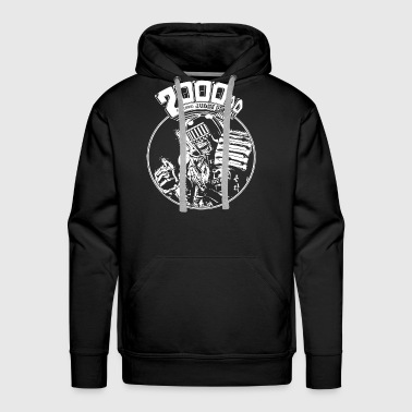 Judge Death Dredd Deaths Head Comic Icon Dc Marvel - Men's Premium Hoodie
