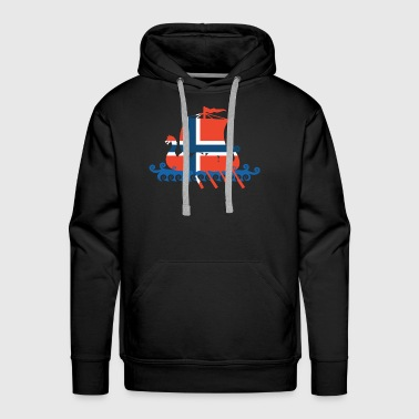 Norway Viking Norwegian lag Viking T Shirts - Men's Premium Hoodie