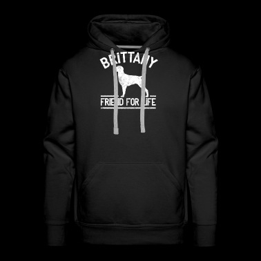 Brittany Dog Owner Cool Dog Gift Idea - Men's Premium Hoodie