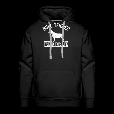 Bull Terrier Dog Owner Combat Dog Gift Idea - Men's Premium Hoodie