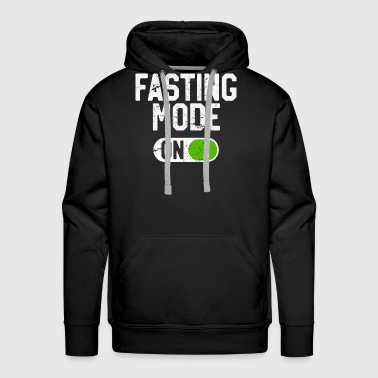 Fasting Mode On Intermittent Fasting Diet - Men's Premium Hoodie