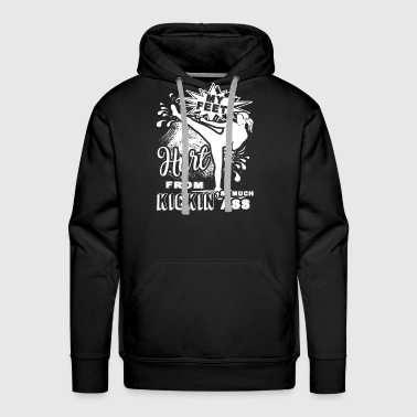 Kickboxing My Feet Shirt - Men's Premium Hoodie