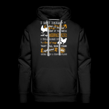 Chicken Farmer's Shirt - Men's Premium Hoodie