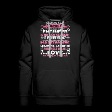 Love Chemical Enginner Shirt - Men's Premium Hoodie