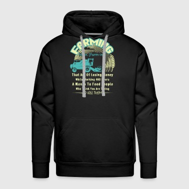 FARMING DEFINITION SHIRT - Men's Premium Hoodie