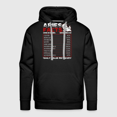 Aries Facts Shirt - Men's Premium Hoodie