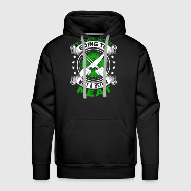 Meat Cutter Shirt - Men's Premium Hoodie