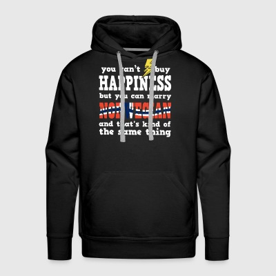 You can't buy happiness but you can marry norwegia - Men's Premium Hoodie