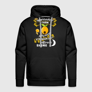 Sweeter Than Honey T Shirt - Men's Premium Hoodie