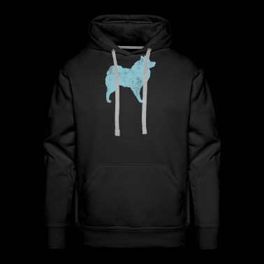 Graphic Eskimo Dog Owner Dog Lover Gift - Men's Premium Hoodie