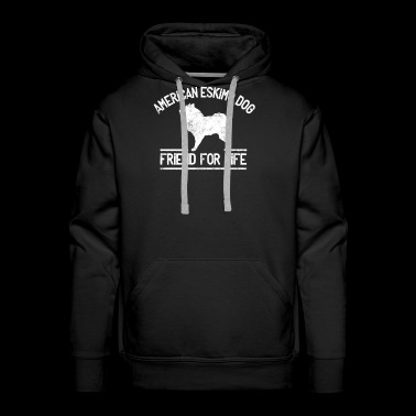 American Eskimo Dog Owner Dog Friend Lover Gift - Men's Premium Hoodie