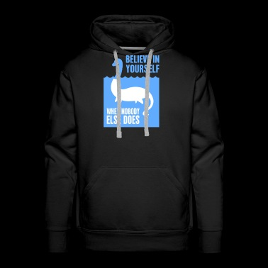 Believe In Yourself - Loch Ness Monster - Men's Premium Hoodie