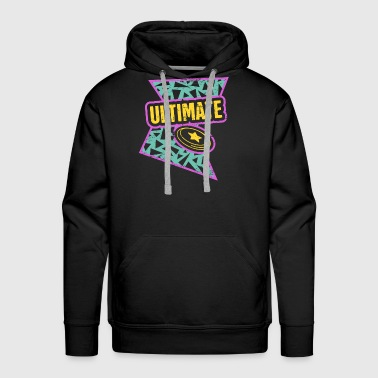 Rad 90s Pattern - Ultimate Frisbee - Men's Premium Hoodie