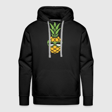 Cool Vacation Pineapple - Men's Premium Hoodie