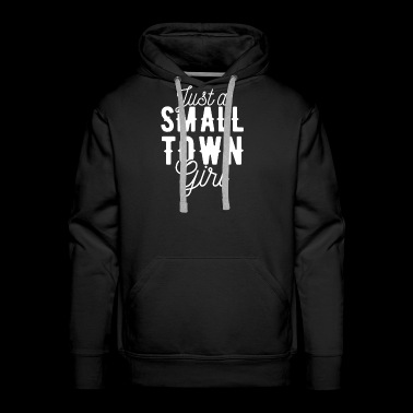 Small Town Girl Gift Village Child Suburban - Men's Premium Hoodie
