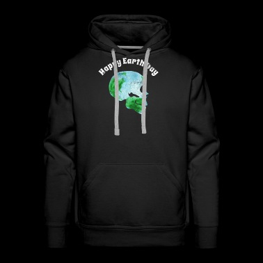 Happy Earth Day T-Shirt - Men's Premium Hoodie