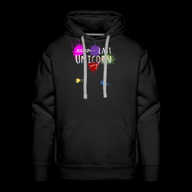 Last Unicorn art color apparel aunt prank - Men's Premium Hoodie
