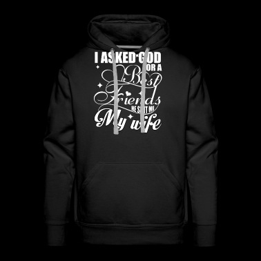 My Wife T Shirt - Men's Premium Hoodie