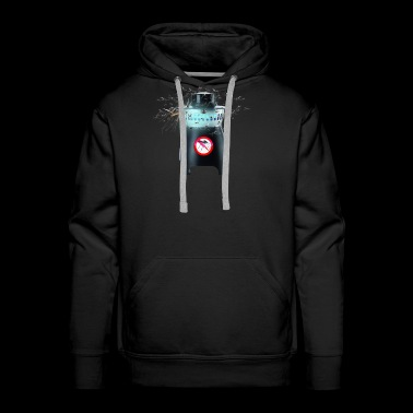 Mosquito Attracted To Electronic Insect Killer - Men's Premium Hoodie