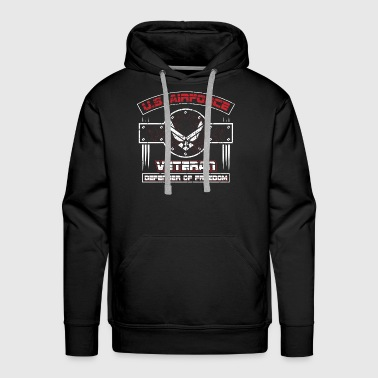 US Airforce! USA Patriot! Veteran! - Men's Premium Hoodie