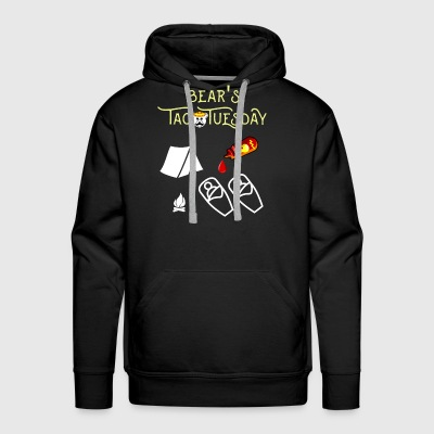 Bear's Taco Tuesday - Men's Premium Hoodie