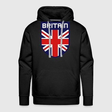 Bremojis British shield sign - Men's Premium Hoodie