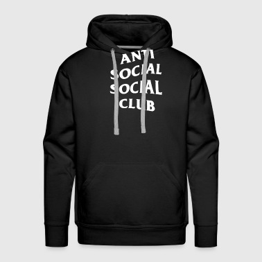 Anti Social Club - Men's Premium Hoodie