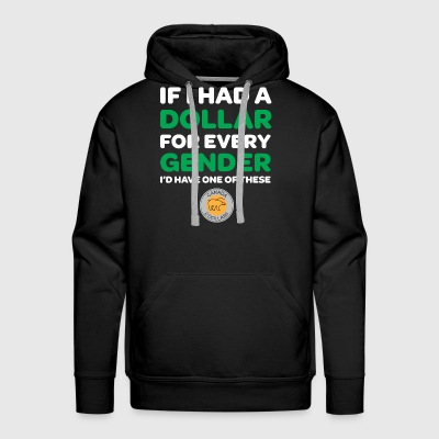 Gender Toonie - Men's Premium Hoodie