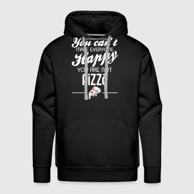 You are not pizza - Men's Premium Hoodie
