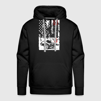 Farmer Flag Shirt - Men's Premium Hoodie